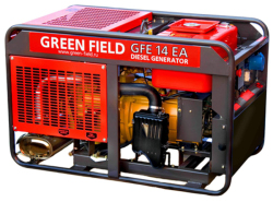 Дизельный генератор Green Field GFE-14EA (12 кВт)