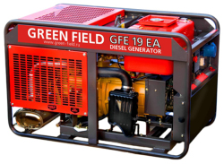 Дизельный генератор Green Field GFE-19EA (15 кВт)
